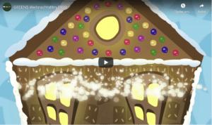 Weihnachtsvideo GREENS Youtube